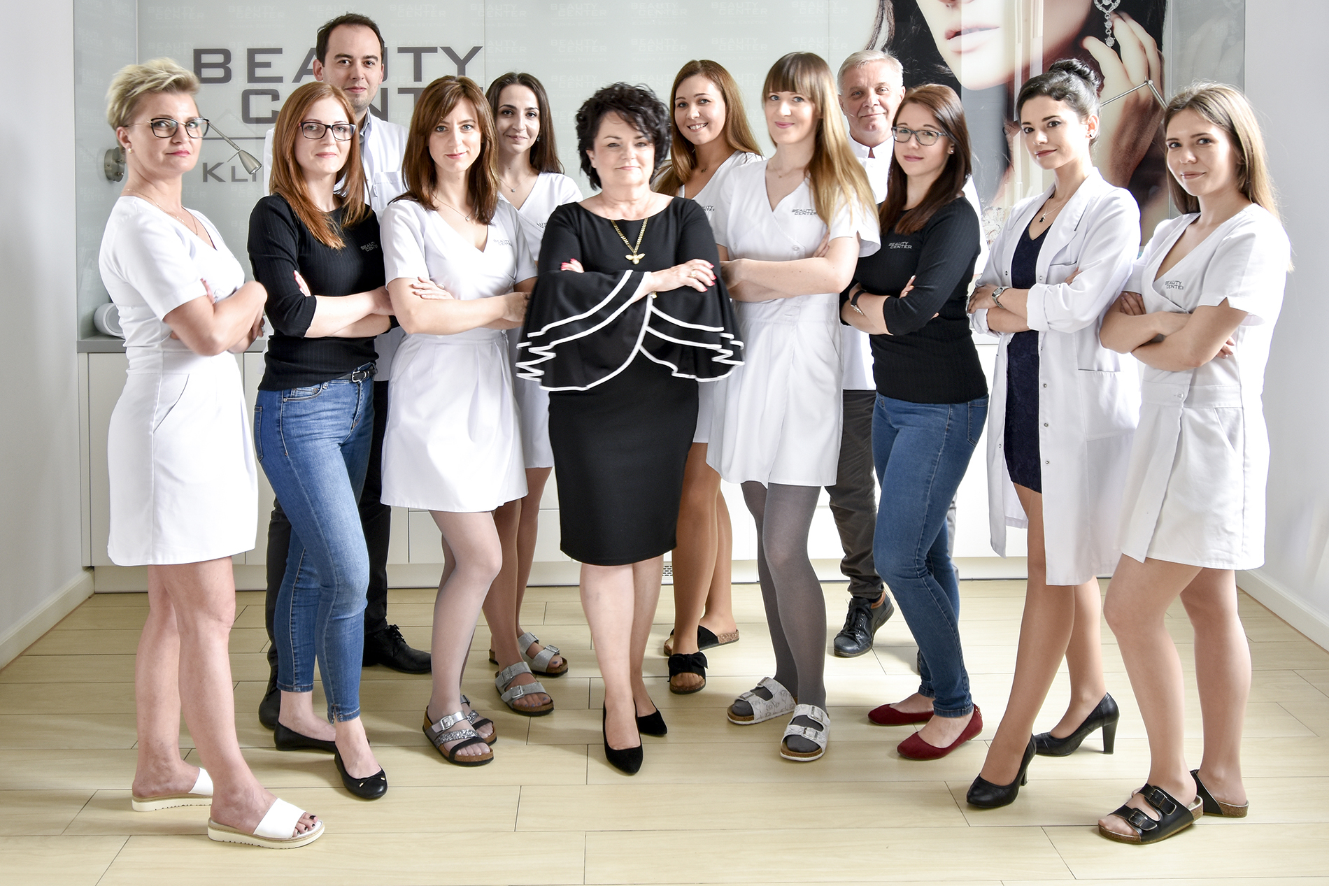 Grupowe zdjęcie Beauty Center Medical Wellness SPA z Pabianic 2019